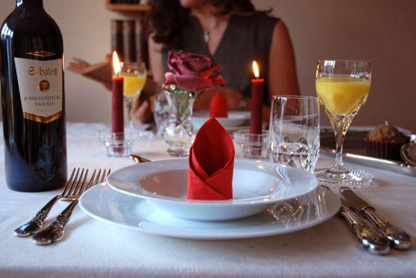 Ruhe - ein gutes Essen zu Hause gehört dazu
